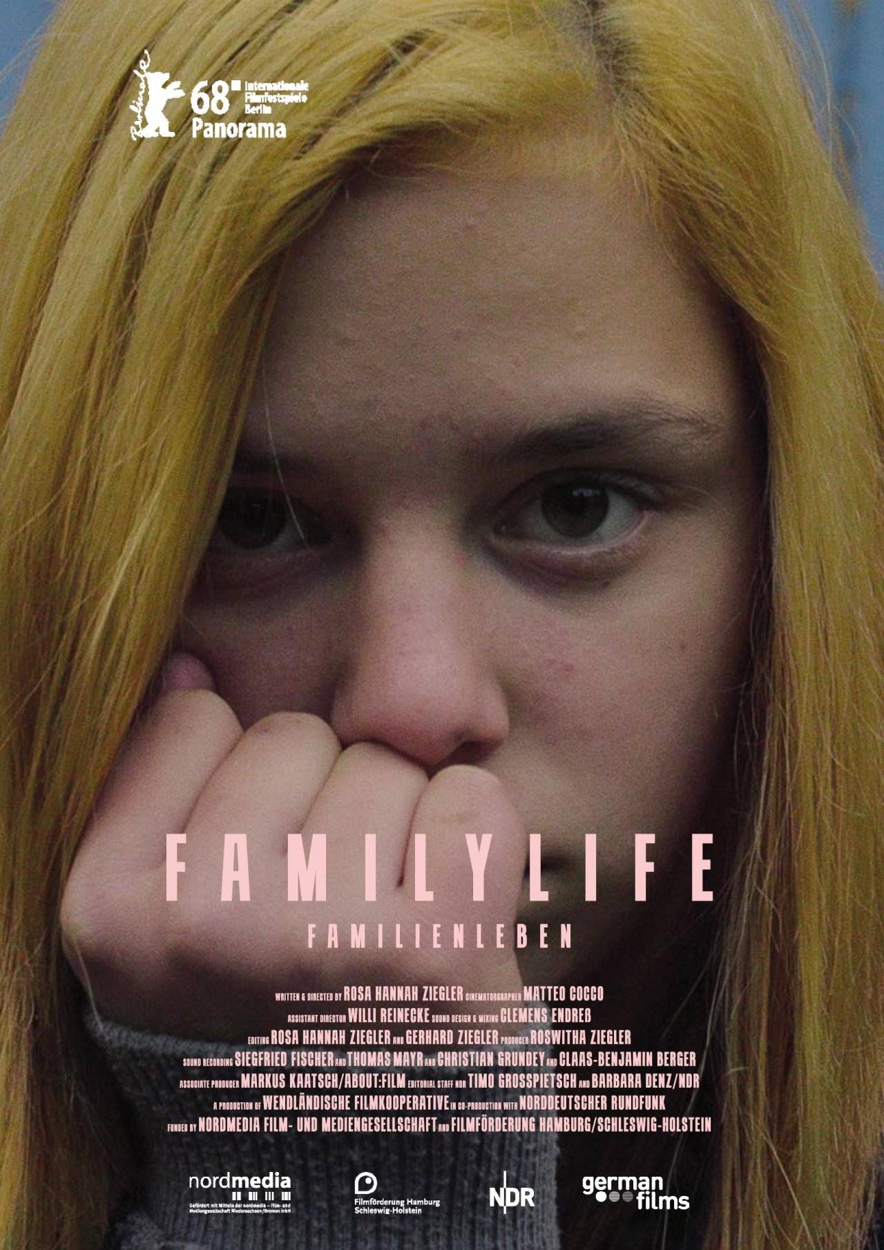 FAMILIENLEBEN Plakat